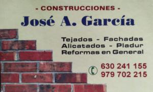 Construcciones José A García